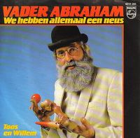 Cover Vader Abraham - We hebben allemaal een neus
