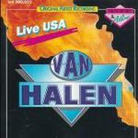 Cover Van Halen - Live USA