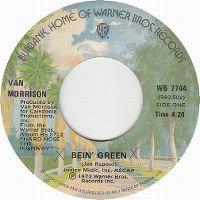 Cover Van Morrison - Bein' Green