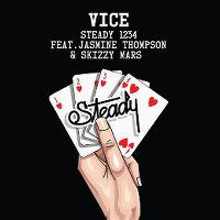 Cover Vice feat. Jasmine Thompson & Skizzy Mars - Steady 1234