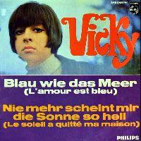 Cover Vicky - Blau wie das Meer