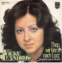 Cover Vicky Leandros - Theo, wir fahr'n nach Lodz