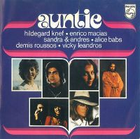 Cover Vicky Leandros, Demis Roussos, Sandra & Andres, Enrico Macias, Hildegard Knef & Alice Babs - Auntie