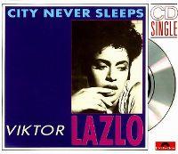 Cover Viktor Lazlo - City Never Sleeps