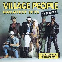Cover Village People - Greatest Hits - The '89 Remixes