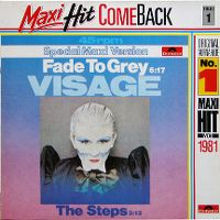 Cover Visage - Fade To Grey