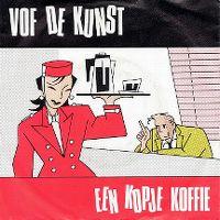 Cover V.O.F. De Kunst - Één kopje koffie