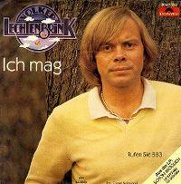 Cover Volker Lechtenbrink - Ich mag