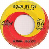 Cover Wanda Jackson - Because It's You