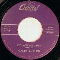Cover Wanda Jackson - Did You Miss Me?