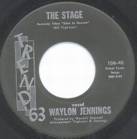 Cover Waylon Jennings - The Stage / My Baby Walks All Over Me