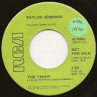 Cover Waylon Jennings - The Taker