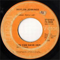 Cover Waylon Jennings - You Can Have Her