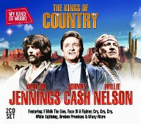 Cover Waylon Jennings / Johnny Cash / Willie Nelson - My Kind Of Music - The Kings Of Country