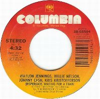 Cover Waylon Jennings / Willie Nelson / Johnny Cash / Kris Kristofferson - Desperados Waiting For A Train