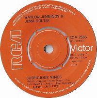 Cover Waylon Jennings & Jessi Colter - Suspicious Minds
