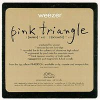 Cover Weezer - Pink Triangle