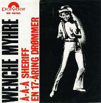 Cover Wencke Myhre - Å-å-å sheriff