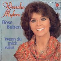 Cover Wencke Myhre - Böse Buben