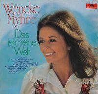 Cover Wencke Myhre - Das ist meine Welt