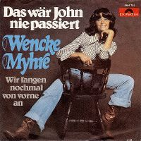 Cover Wencke Myhre - Das wär John nie passiert