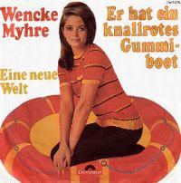 Cover Wencke Myhre - Er hat ein knallrotes Gummiboot