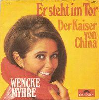 Cover Wencke Myhre - Er steht im Tor