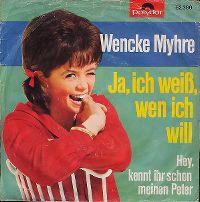 Cover Wencke Myhre - Ja, ich weiß, wen ich will
