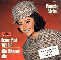 Cover Wencke Myhre - Keine Post von dir
