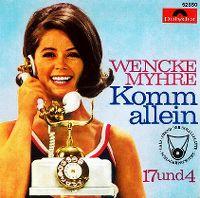 Cover Wencke Myhre - Komm allein