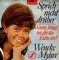 Cover Wencke Myhre - Sprich nicht drüber