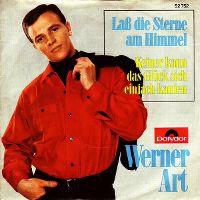 Cover Werner Art - Laß die Sterne am Himmel