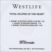 Cover Westlife - Total Eclipse Of The Heart