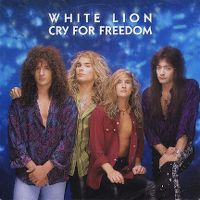 Cover White Lion - Cry For Freedom