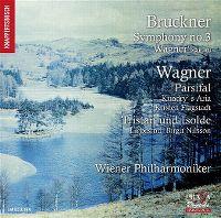 Cover Wiener Philharmoniker - Bruckner - Wagner