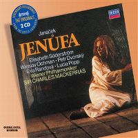 Cover Wiener Philharmoniker - Jenůfa - Janáček
