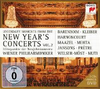 Cover Wiener Philharmoniker - Legendary Moments From The New Year's Concerts Vol. 2