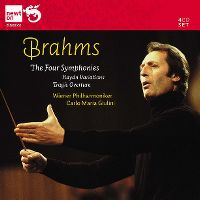 Cover Wiener Philharmoniker / Carlo Maria Giulini - The Four Symphonies - Brahms