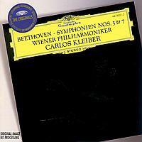 Cover Wiener Philharmoniker / Carlos Kleiber - Symphonien Nos. 5 & 7 - Beethoven