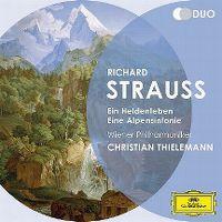 Cover Wiener Philharmoniker / Christian Thielemann - Richard Strauss: Ein Heldenleben - Eine Alpensinfonie