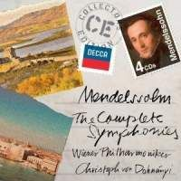Cover Wiener Philharmoniker / Christoph von Dohnanyi - The Complete Symphonies - Mendelssohn