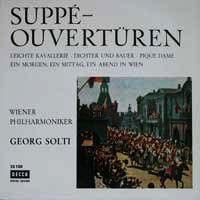 Cover Wiener Philharmoniker / Georg Solti - Suppé-Ouvertüren