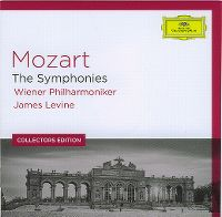 Cover Wiener Philharmoniker / James Levine - Mozart - The Symphonies
