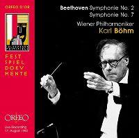 Cover Wiener Philharmoniker / Karl Böhm - Beethoven: Symphonie No. 2 - Symphonie No. 7