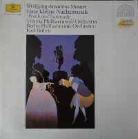 Cover Wiener Philharmoniker / Karl Böhm - Wolfgang Amadeus Mozart: Eine kleine Nachtmsik