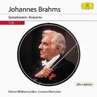 Cover Wiener Philharmoniker / Leonard Bernstein - Johannes Brahms: Symphonien - Konzerte