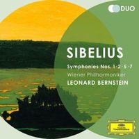 Cover Wiener Philharmoniker / Leonard Bernstein - Symphonies No. 1-2-5-7 - Sibelius