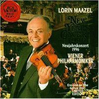 Cover Wiener Philharmoniker / Lorin Maazel - Neujahrskonzert 1996