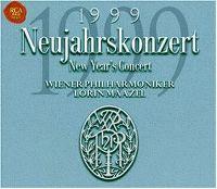 Cover Wiener Philharmoniker / Lorin Maazel - Neujahrskonzert / New Year's Concert 1999