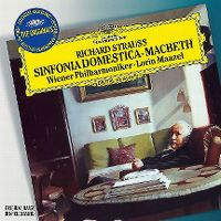 Cover Wiener Philharmoniker / Lorin Maazel - Richard Strauss: Sinfonia domestica - MacBeth